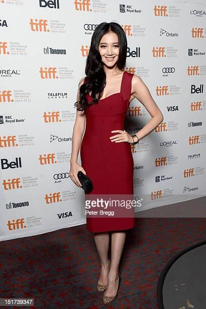 Actress Han Wenwen attends the Beijing Flickers Premiere at the 2012 Toronto International Film Festival at the Bloor Hot Docs Cinemavon September 10...