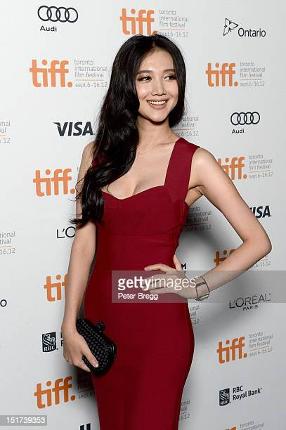 Actress Han Wenwen attends the Beijing Flickers Premiere at the 2012 Toronto International Film Festival at the Bloor Hot Docs Cinemavon September 10...