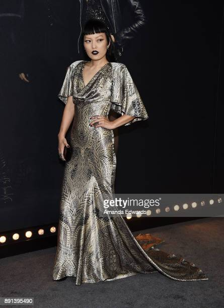 Actress Hana Mae Lee arrives at the premiere of Universal Pictures' 'Pitch Perfect 3' on December 12 2017 in Hollywood California