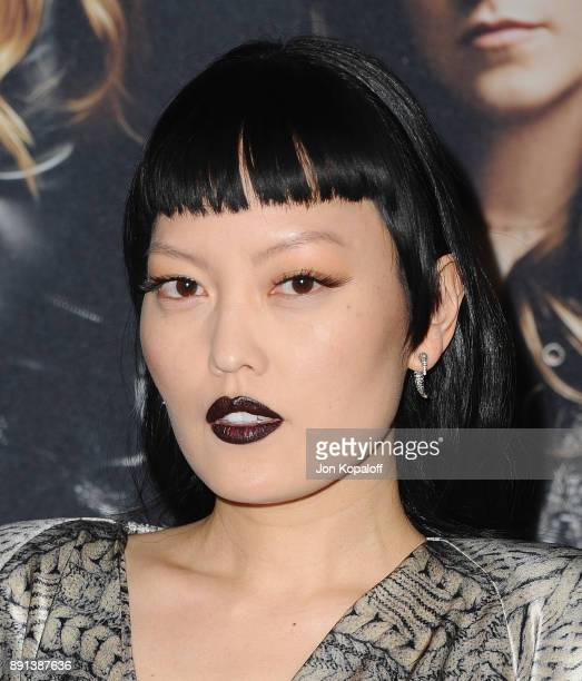 Actress Hana Mae Lee attends the Los Angeles Premiere 'Pitch Perfect 3' at the Dolby Theatre on December 12 2017 in Hollywood California