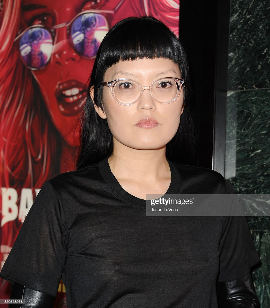 Actress Hana Mae Lee attends the premiere of 'The Babysitter' at the Vista Theatre on October 11, 2017 in Los Angeles, California.