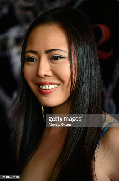 Actress Hana Yuka Sano at the 2nd Annual Artemis Film Festival Red Carpet Opening Night/Awards Presentation held at Ahrya Fine Arts Movie Theater on...