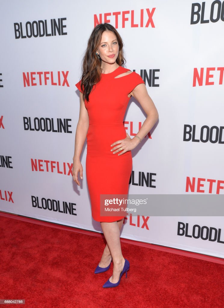 Actress Hani Avital attends the Los Angeles premiere of Netflix's 'Bloodline' Season 3 at Arclight Cinemas Culver City on May 24, 2017 in Culver City, California.