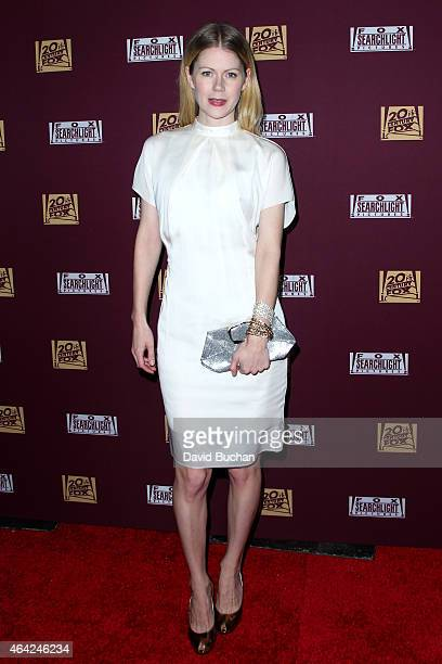 Actress Hanna Alstrom attends the 21st Century Fox and Fox Searchlight Oscar Party at BOA Steakhouse on February 22 2015 in West Hollywood California
