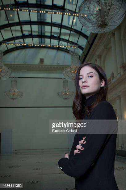 Actress Hanna Ardéhn poses for a portrait during the 69th Berlinale International Film Festival on February 8 2019 in Berlin Germany
