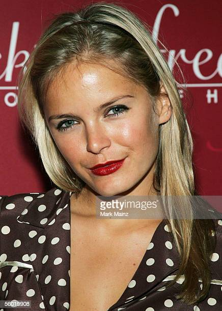 Actress Hanna Verboom attends Fredericks of Hollywood 2006 Spring Fashion Show at the Avalon club October 26 2005 in Los Angeles California