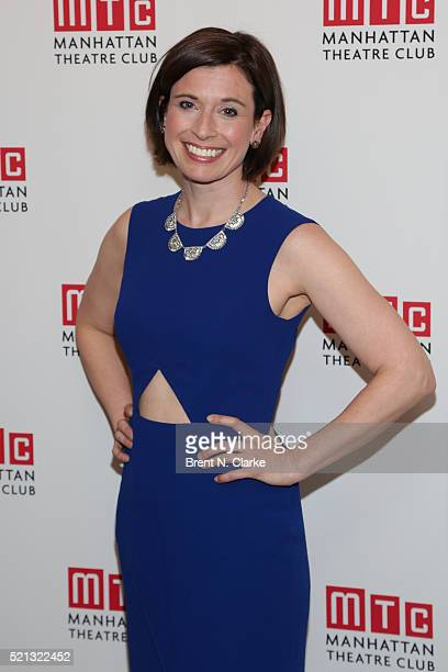 Actress Hannah Cabell attends the cast party following the opening night performance of The Father held at the Samuel J Friedman Theatre on April 14...