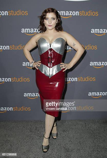 Actress Hannah Dunne attends Amazon Studios Golden Globes Party at The Beverly Hilton Hotel on January 8, 2017 in Beverly Hills, California.