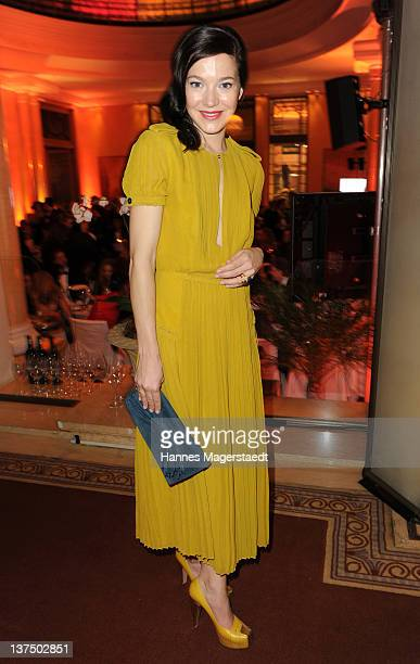 Actress Hannah Herzsprung attends the German Filmball at the Hotel Bayerischer Hof on January 21 2012 in Munich Germany
