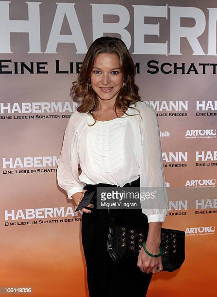 Actress Hannah Herzsprung attends the Habermann premiere at Filmcasino on November 2 2010 in Munich Germany The movie starts on November 25 2010 in...