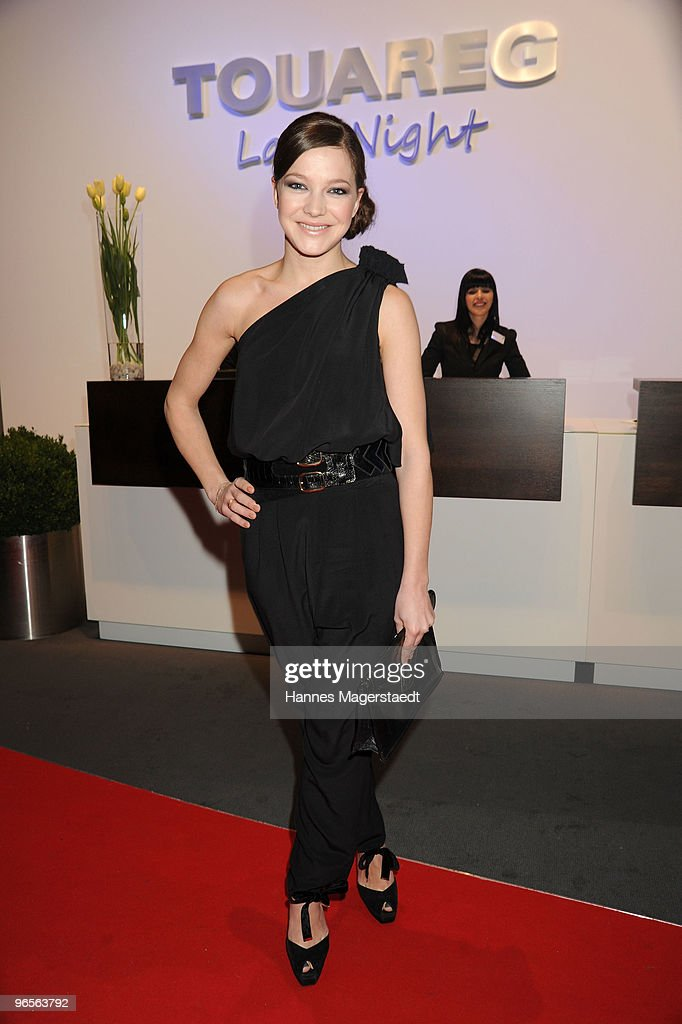 Actress Hannah Herzsprung attends the Touareg World Premiere at the Postpalast on February 10, 2010 in Munich, Germany.