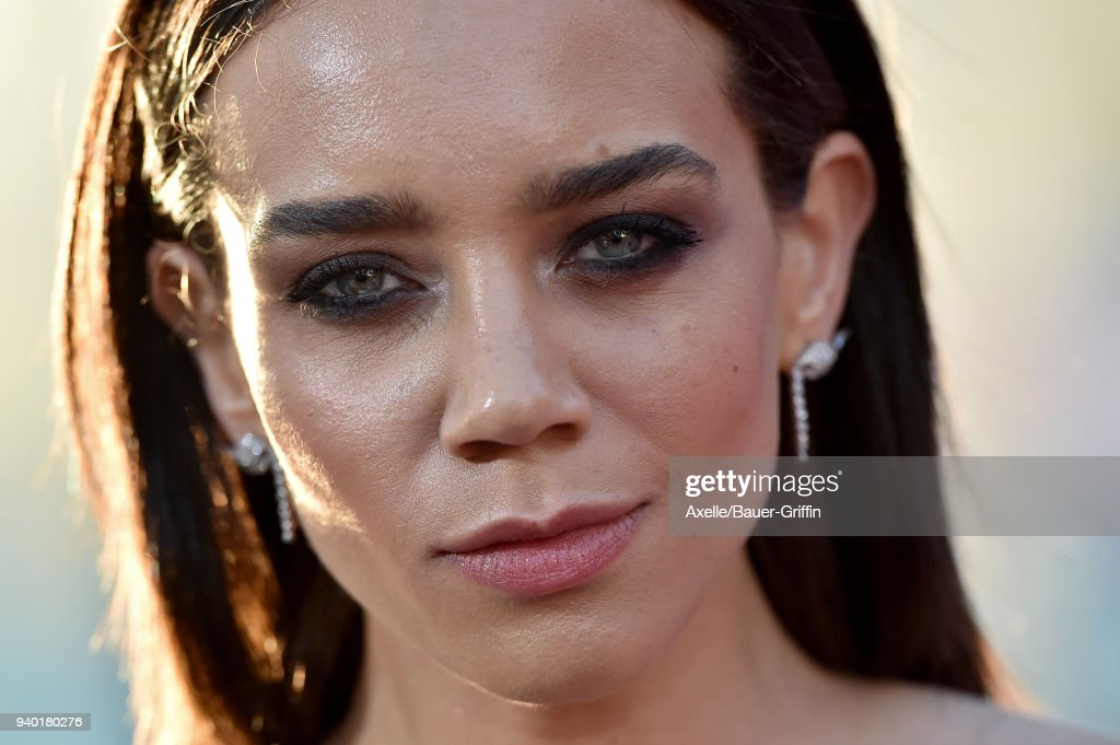 Actress Hannah John-Kamen arrives at the Premiere of Warner Bros. Pictures' 'Ready Player One' at Dolby Theatre on March 26, 2018 in Hollywood, California.