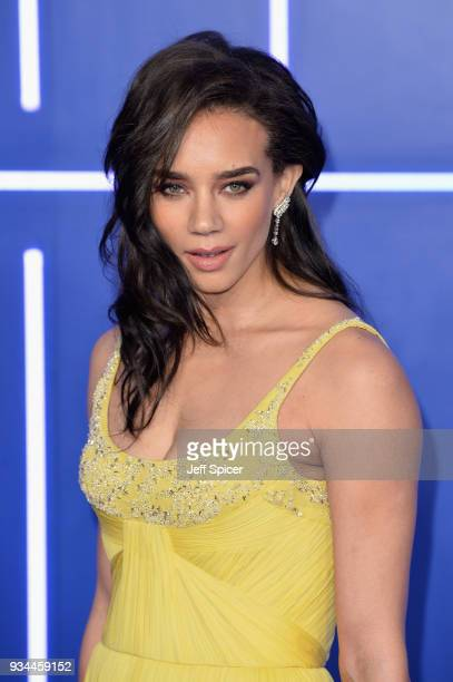 Actress Hannah JohnKamen attends the European Premiere of 'Ready Player One' at Vue West End on March 19 2018 in London England