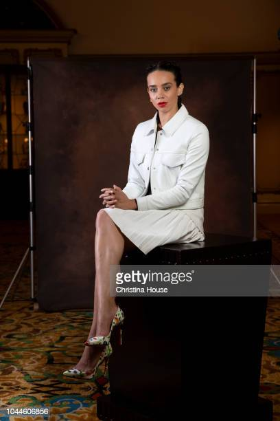 Actress Hannah JohnKamen is photographed for Los Angeles Times on June 24 2018 in Pasadena California PUBLISHED IMAGE CREDIT MUST READ Christina...