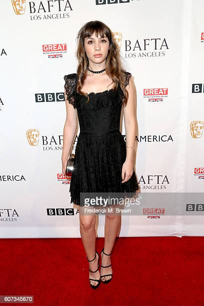 Actress Hannah Marks attends the BBC America BAFTA Los Angeles TV Tea Party 2016 at The London Hotel on September 17 2016 in West Hollywood California