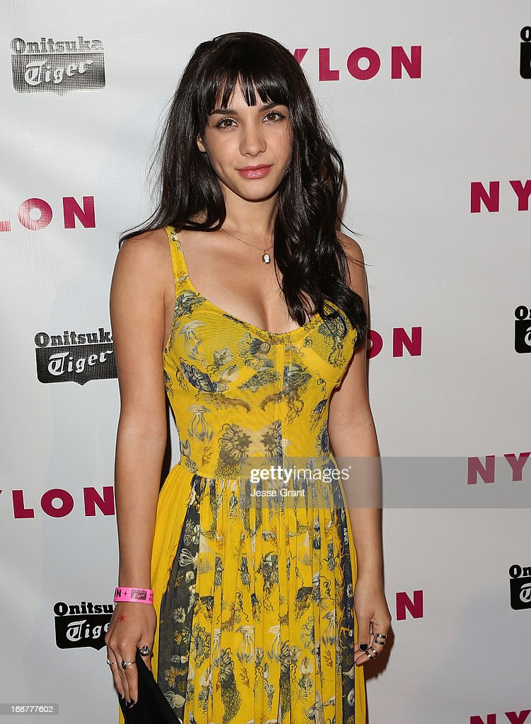 Actress Hannah Marks attends the NYLON Magazine Annual May Young Hollywood Issue Party at The Roosevelt Hotel on May 14, 2013 in Hollywood, California.