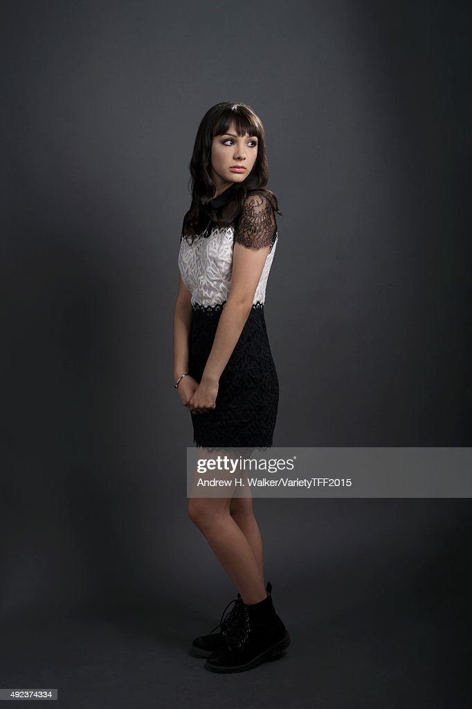 Actress Hannah Marks is photographed for Variety at the Tribeca Film Festival on April 24, 2015 in New York City.