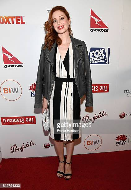 Actress Hannah Marshall attends Australians In Film's 5th Annual Awards Gala at NeueHouse Hollywood on October 19 2016 in Los Angeles California