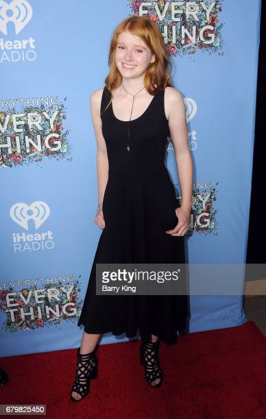 Actress Hannah McCloud attends screening of Warner Bros Pictures' 'Everything Everything' at TCL Chinese Theatre on May 6 2017 in Hollywood California