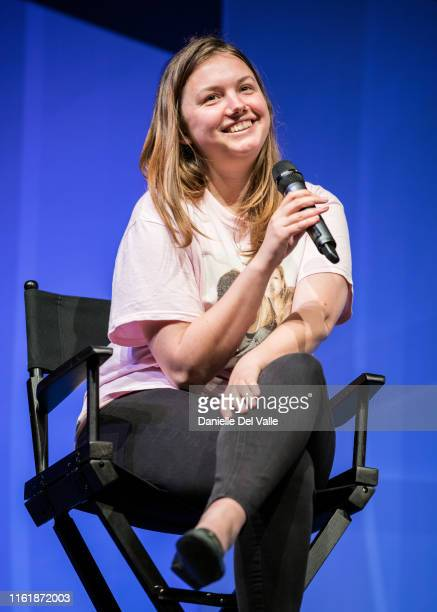Actress Hannah Murray answers questions during an interview for the 2019 Con Of Thrones at Music City Center on July 13 2019 in Nashville Tennessee