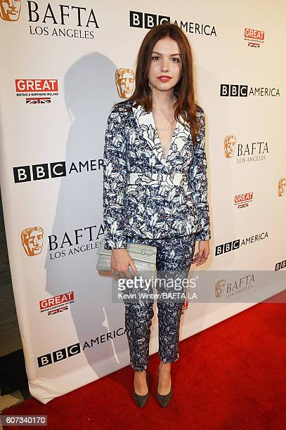 Actress Hannah Murray attends the BBC America BAFTA Los Angeles TV Tea Party 2016 at The London Hotel on September 17 2016 in West Hollywood...