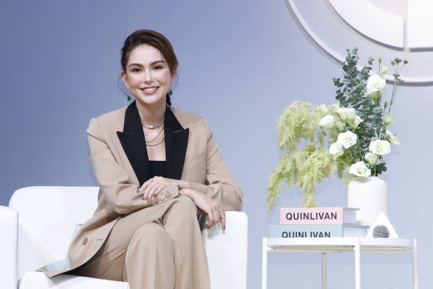 TWN: Hannah Quinlivan Attends Press Conference In Taiwan
