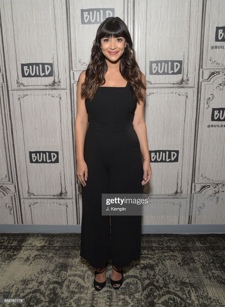 Actress Hannah Simone attends Build Series at Build Studio on March 20, 2017 in New York City.