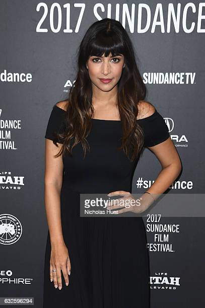 f74a2ad3 Actress Hannah Simone attends the Band Aid Premiere at Eccles Center  Theatre on January 24 2017.