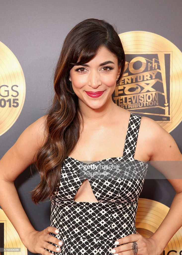 Actress Hannah Simone attends the FOX Los Angeles Screenings Party 2015 on the Fox Studio Lot on May 21, 2015 in Los Angeles, California.