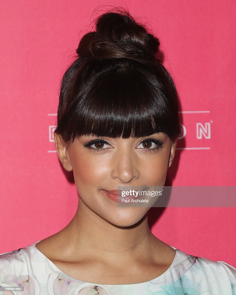 Actress Hannah Simone attends Us Weekly's annual Hot Hollywood Style issue party at The Emerson Theatre on April 18, 2013 in Hollywood, California.