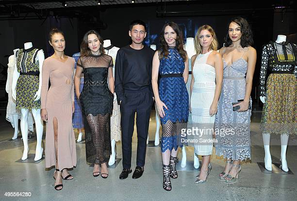 Actress Hannah Ware, actress Zelda Williams, Self-Portrait, Creative Director & Founder, Han Chong, costume designer Janie Bryant, actresses Ruth...