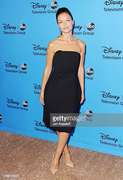 Actress Hannah Ware arrives at the Disney/ABC Party 2013 Television Critics Association's Summer Press Tour at The Beverly Hilton Hotel on August 4,...