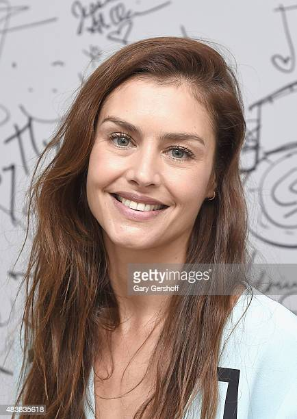 """Actress Hannah Ware attends AOL Build Presents: """"Hitman: Agent 47"""" at AOL Studios In New York on August 13, 2015 in New York City."""
