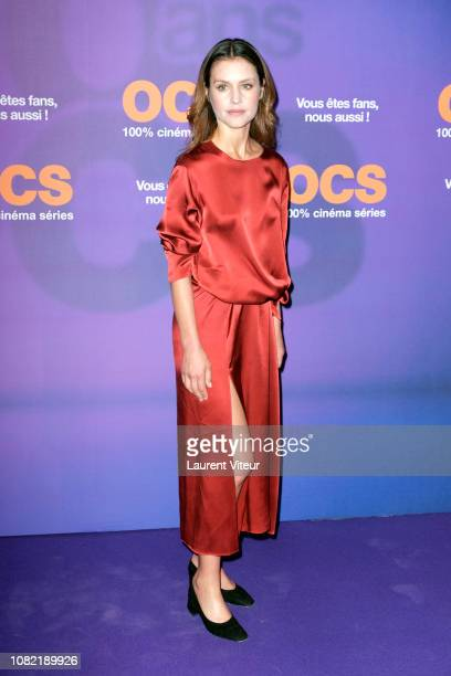 "Actress Hannah Ware attends ""OCS 10th Anniversary"" at Pavillon d'Armenonville on December 13, 2018 in Paris, France."