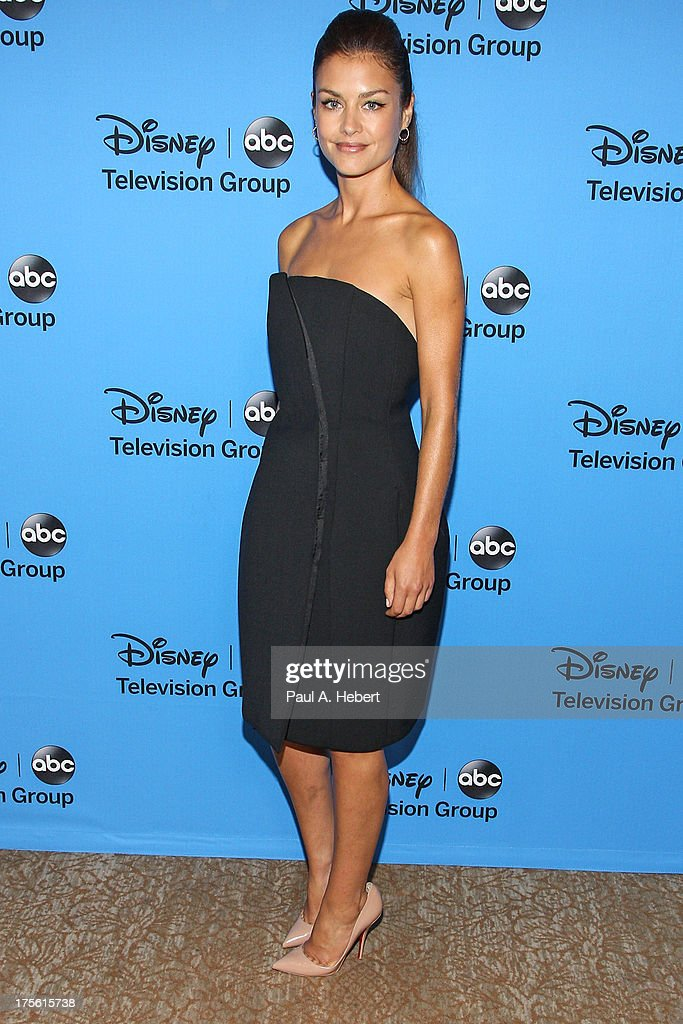 Actress Hannah Ware attends the Disney & ABC Television Group's '2013 Summer TCA Tour' at The Beverly Hilton Hotel on August 4, 2013 in Beverly Hills, California.