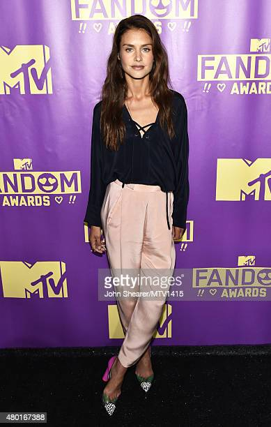Actress Hannah Ware attends the MTV Fandom Awards San Diego at PETCO Park on July 9, 2015 in San Diego, California.