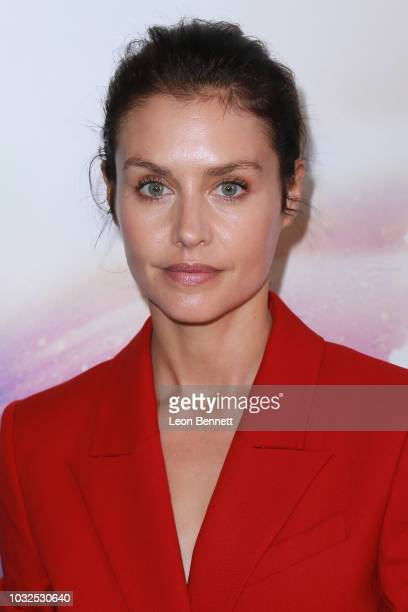 Actress Hannah Ware attends the Premiere Of Hulu's The First at California Science Center on September 12 2018 in Los Angeles California