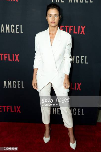 "Actress Hannah Ware attends the Screening Of Netflix's ""The Angel"" at TCL Chinese 6 Theatres on September 13, 2018 in Hollywood, California."