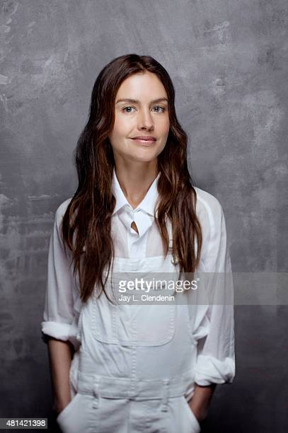 Actress Hannah Ware of 'Hitman: Agent 47' poses for a portrait at Comic-Con International 2015 for Los Angeles Times on July 9, 2015 in San Diego,...