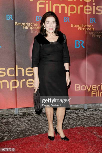 Actress Hannelore Elsner attends the Bavarian Movie Award 2010 at the Prinzregententheater on January 15 2010 in Munich Germany