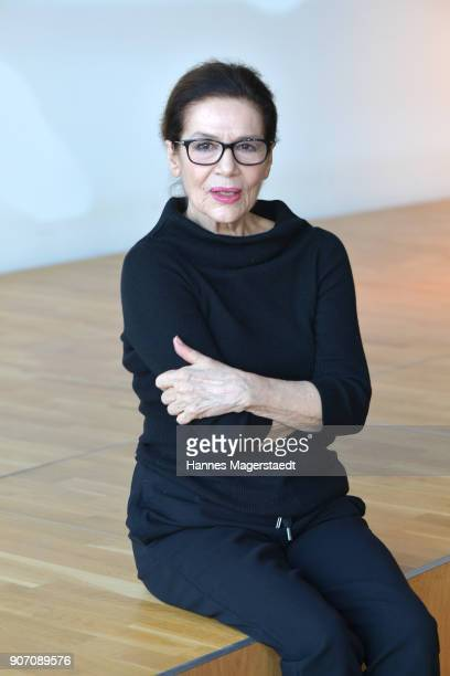 Actress Hannelore Elsner during the BR Film Brunch at Literaturhaus on January 19 2018 in Munich Germany