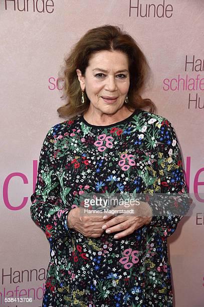 Actress Hannelore Elsner during the German premiere of the film 'Hannas schlafende Hunde' at Filmtheater Sendlinger Tor on June 6 2016 in Munich...