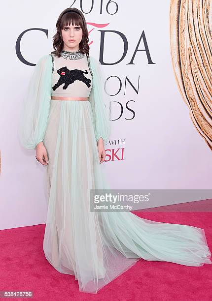 Actress Hari Nef attends the 2016 CFDA Fashion Awards at the Hammerstein Ballroom on June 6 2016 in New York City