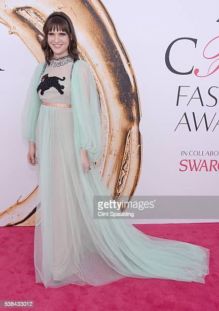 Actress Hari Nef attends the 2016 CFDA Fashion Awards at the Hammerstein Ballroom on June 6, 2016 in New York City.