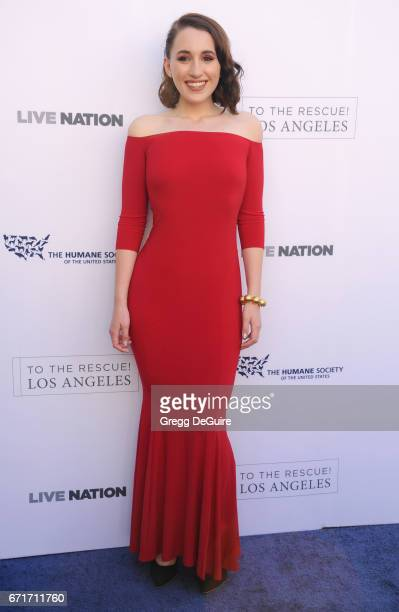 Actress Harley Quinn Smith arrives at the Humane Society Of The United States' Annual To The Rescue Los Angeles Benefit at Paramount Studios on April...