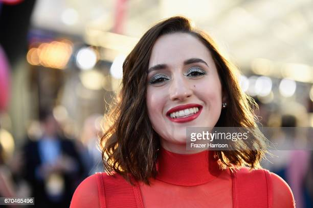 Actress Harley Quinn Smith arrives at the premiere of Disney and Marvel's Guardians Of The Galaxy Vol 2 at Dolby Theatre on April 19 2017 in...