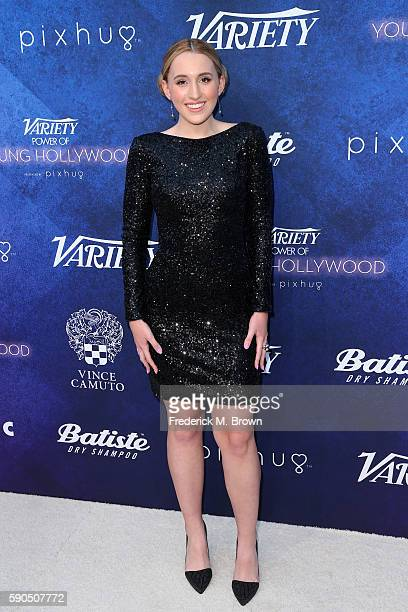 Actress Harley Quinn Smith attends Variety's Power of Young Hollywood at NeueHouse Hollywood on August 16 2016 in Los Angeles California