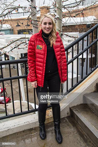 Actress Harley Quinn Smith is seen around town at the Sundance Film Festival on January 24 2016 in Park City Utah