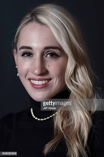 Actress Harley Quinn Smith of 'Yoga Hosers' poses for a portrait at the 2016 Sundance Film Festival on January 24 2016 in Park City Utah