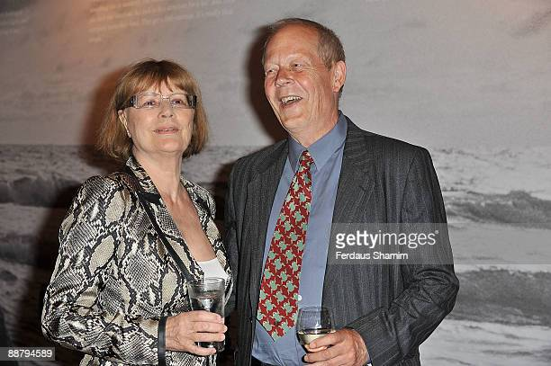 Actress Harriet Andersson and Stig Bjorkman attend the Directorspective Ingmar Bergman event at Barbican Centre on July 2 2009 in London England